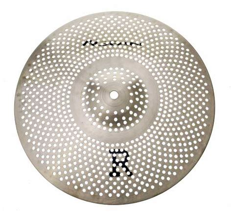 """Agean """"R"""" Low Noise 14"""" Crash Real Feel Practice Cymbal"""
