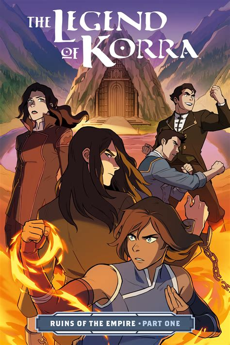 The Legend of Korra: Ruins of the Empire (2019-) Chapter 1