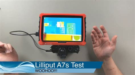 Lilliput A7s LIVE screwing around - YouTube