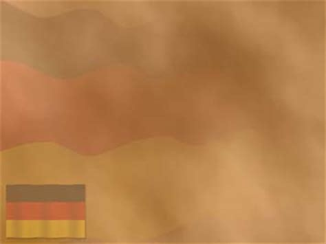 Germany Flag 03 PowerPoint Template