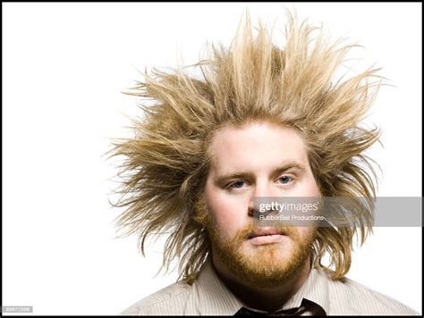 Man With Wild Hair High-Res Stock Photo - Getty Images