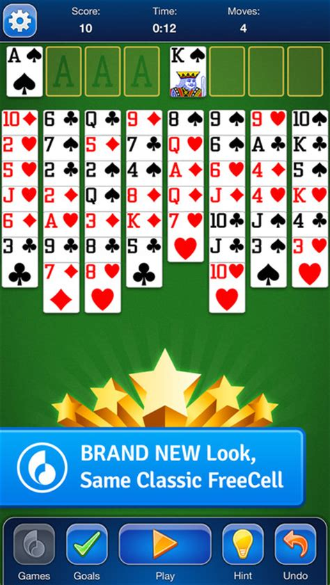 FreeCell Solitaire Card Game for iOS - Free download and