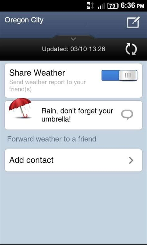 Crazy Weather: Miui's Weather Beta Now Available