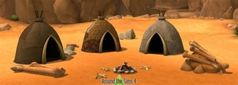Around the Sims 4 History Challenge Prehistoric objects