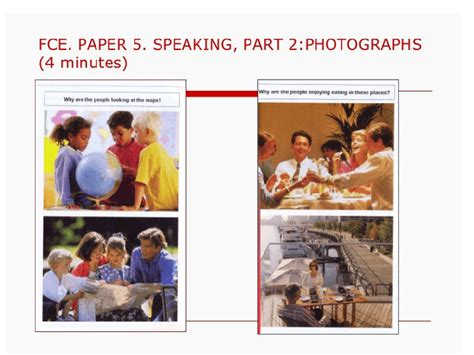 FCE Speaking Practice (Parts 2 and 3)
