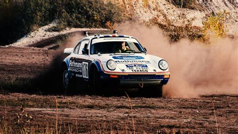 Walter Röhrl Lays out Porsche's Five Best Rally Cars of
