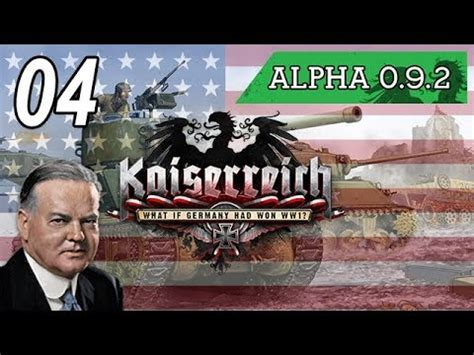 Let's Play Kaiserreich Hoi4 [USA] - Episode 4 - The