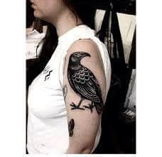 What Does Black Bird Tattoo Mean? | Represent Symbolism