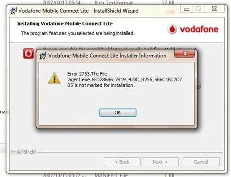 Unable to connect to internet in Vodafone Mobile