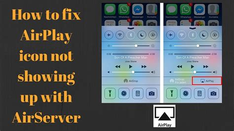 How to enable AirPlay on iPhone/iPad | fix AirPlay icon