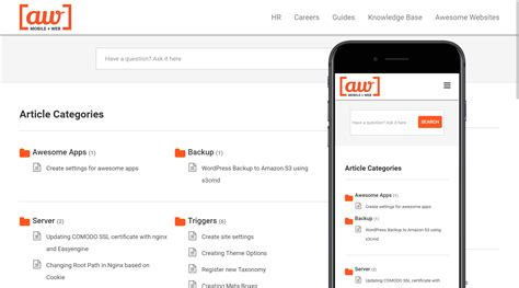 Tutorials - An Awesome knowledge base app for WordPress