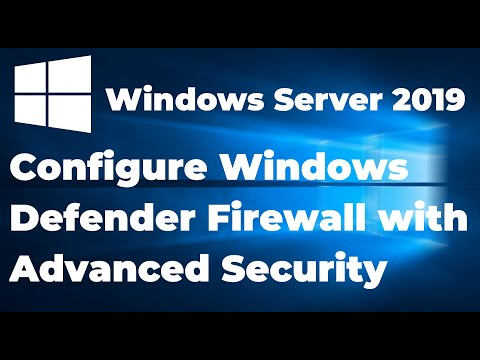 Security System Turn On or Off Windows Defender Firewall