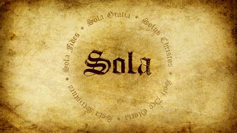 Free download The Five Solas Grace Community Church of