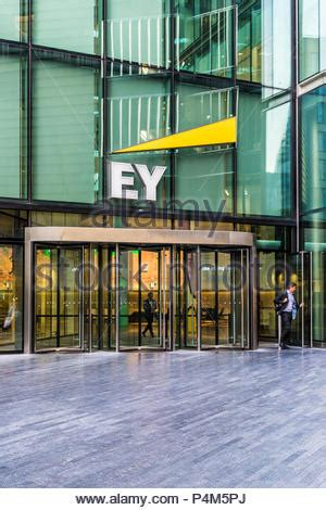 The Ernst & Young office in London, United Kingdom