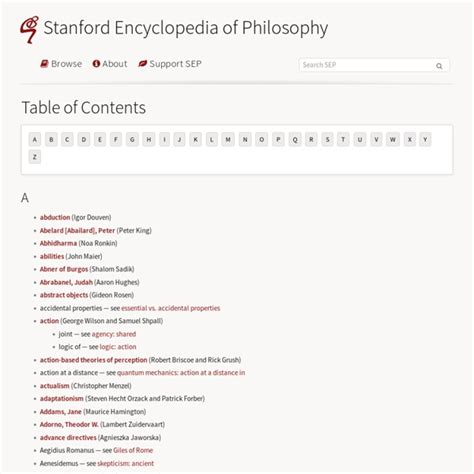 Stanford encyclopedia of philosophy | Pearltrees