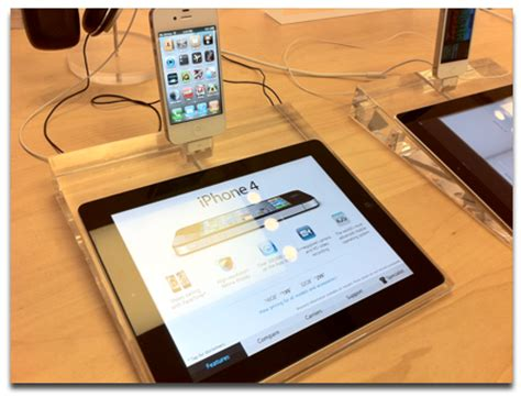 Apple Store Revamp Adds iPad Product Displays [UPDATED