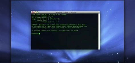 How to Erase your hard drive from the Mac OS X terminal