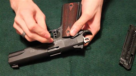 Sig Sauer 1911 22 - Disassembly - YouTube
