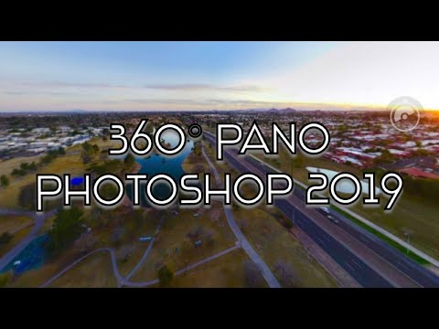 How to Make 360 Spherical Panorama in Photoshop 2019 - YouTube