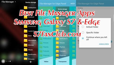 Top 5 Best Galaxy S10 Android File Manager Apps For