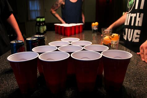 College Style Beer Pong Rules & Regulations - College