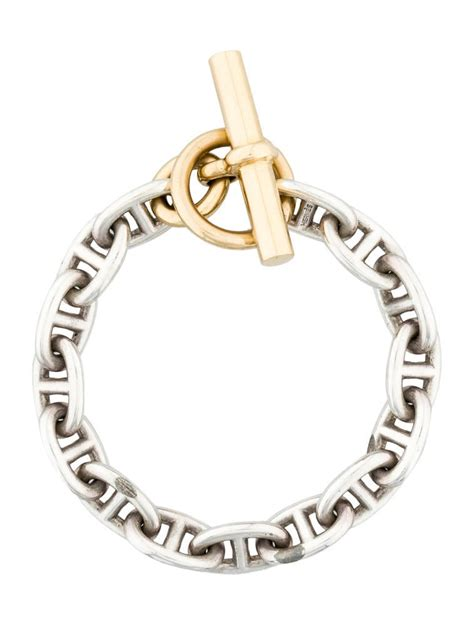 Hermès Chaine d'Ancre MM - Bracelets - HER21831   The RealReal