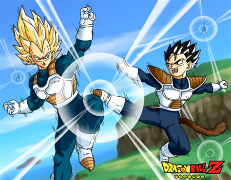 vegeta and tarble by DrabounZ on DeviantArt