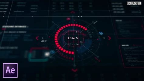 Create HUD Interface Sci-fi Elements   After Effects