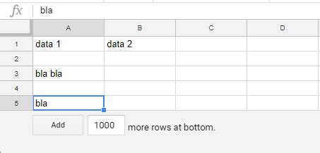 javascript - Deleting ALL empty rows in a Google