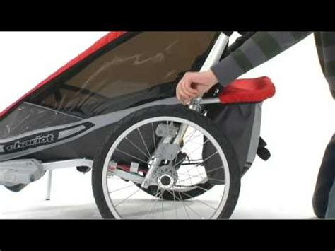 Cougar 1 and 2 child carrier - Chariot Carriers X-Country