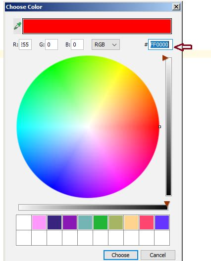 ide - How to copy rgb from intellij color picker? - Stack