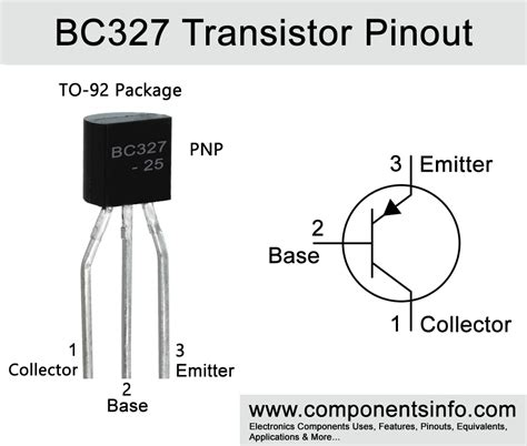 BC327 Transistor Pinout, Equivalent, Uses, Technical Specs